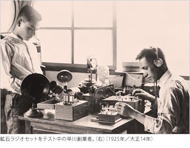 1925〜1928年 創業者 早川徳次
